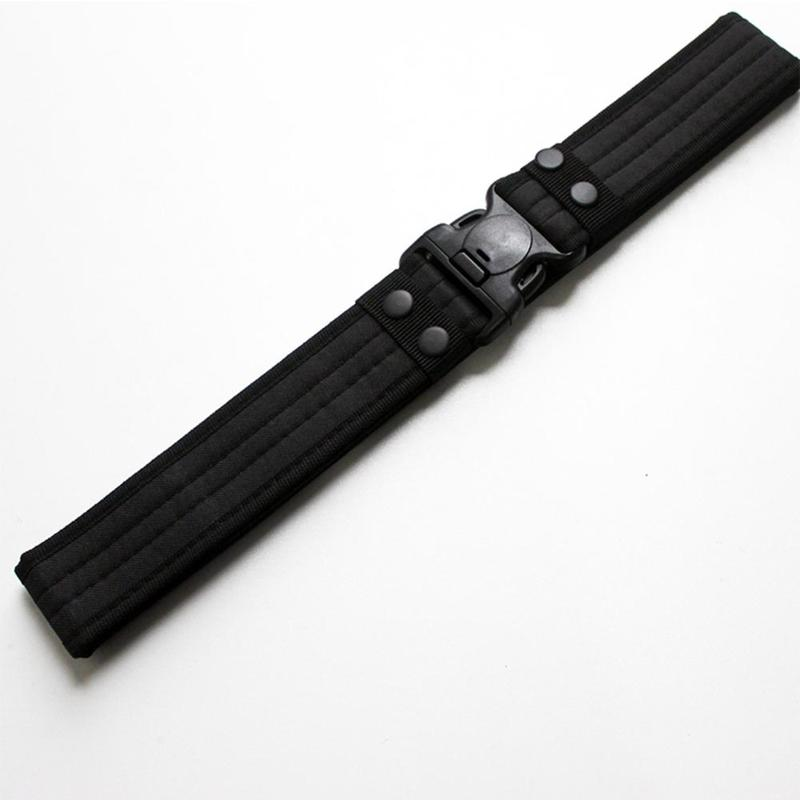 Military Army Tactical Belt Men's Special Forces Black Waist Belt