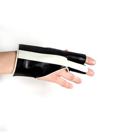 Fingerless Racing Stripe Gloves