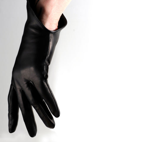 Scooped Wrist Length Gloves