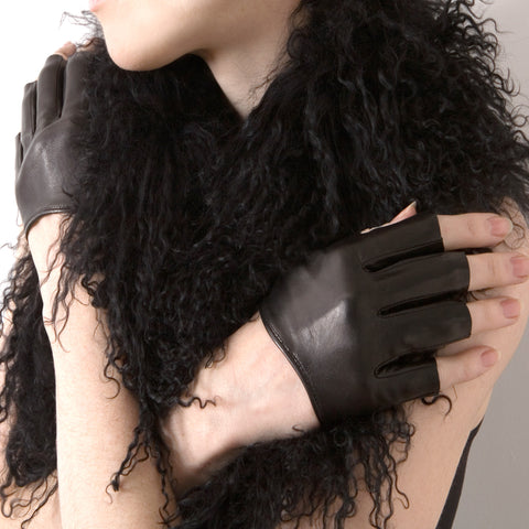 Fingerless Cropped Gloves