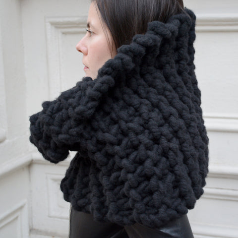 Chunky Hand Knit Cowl