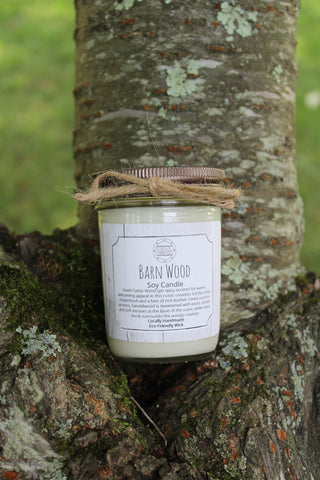 Barn Wood Soy Candle