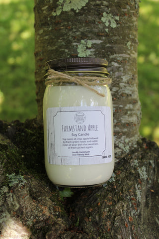 Farmstand Apple Soy Candle