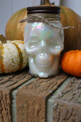 Skull Soy Candle- Fall Festival