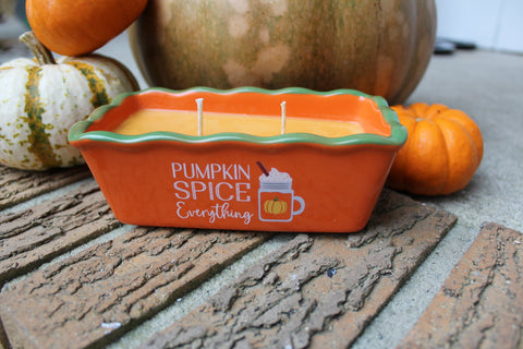 Pumpkin Spice Everything Cake Pan Soy Candle - Pumpkin Spice