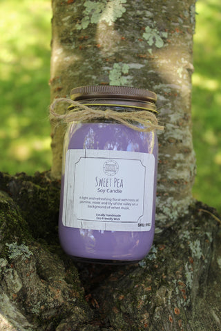 Sweet Pea Soy Candle