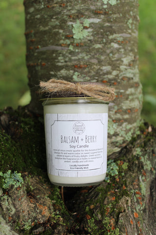 Balsam and Berry Soy Candle