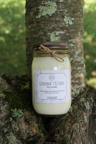 Grandma's Kitchen Soy Candle