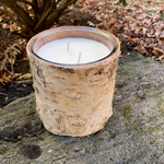 Birch Bark Soy Candle- White Birch