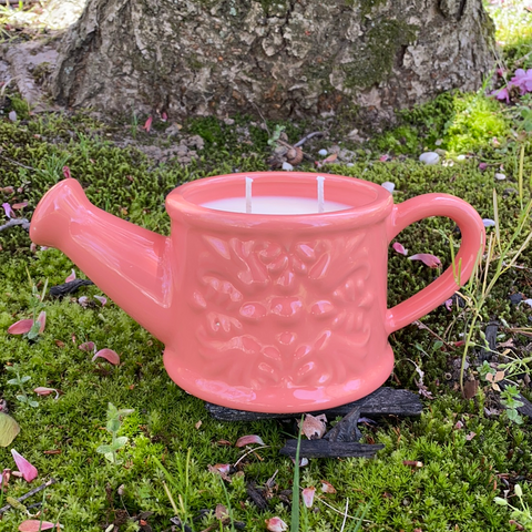 Watering Can Soy Candle (French Market)
