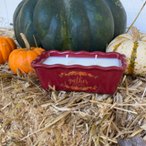 """Gather"" Cake Pan Soy Candle- Harvest"