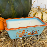 Fall Animal Cake Pan Soy Candle- Harvest