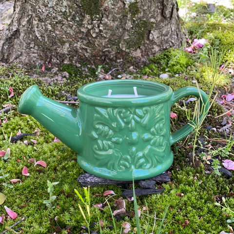 Watering Can Soy Candle (Spring Showers)