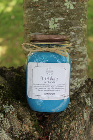 Ocean Waves Soy Candle