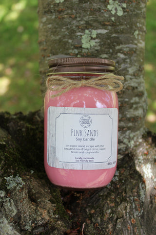 Pink Sands Soy Candle