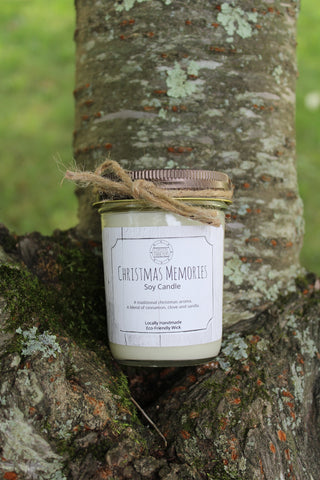 Christmas Memories Soy Candle