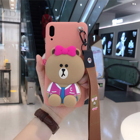 3D Cute Pocket Case for iPhone, Various Cute Designs!