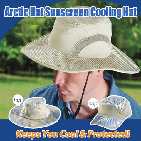 Arctic Hat Sunscreen Cooling Hat/Cap, Best for SUMMER!