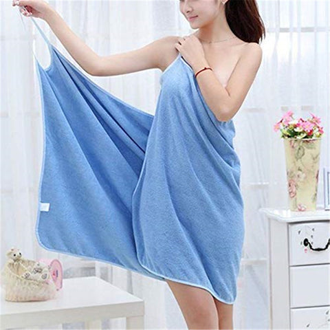 Women Soft Bath Towel Quick Dry Magic Bathing Beach Spa Bathrobes
