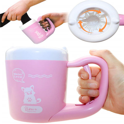 Dog Paw Cleaner Cup - Portable & Automatic