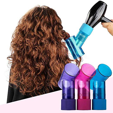 New Portable Wind Spin Hair Curl Diffuser