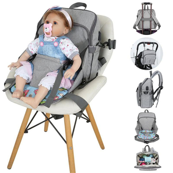 MULTI-FUNCTION WATERPROOF DIAPER BAG