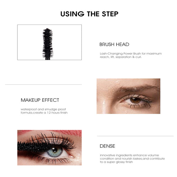 3D Thick Curling Long Mascara