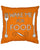 'Wake Me For Food' Cushion Orange