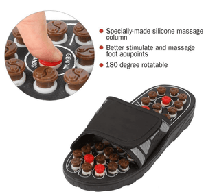 Pressure Relief Foot Massage Slippers