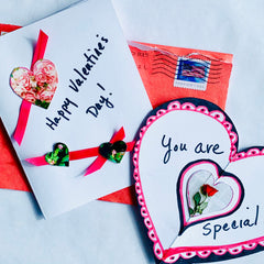 Make your own Valentine's Day cards