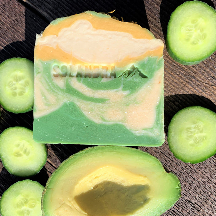 Fresh Avocado & Cucumber Natural Soap