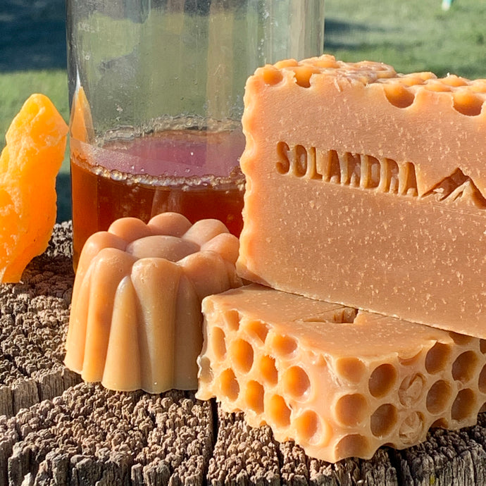 Colorado Honey & Beeswax Natural Soap - Unscented & Orange Blossom