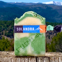Load image into Gallery viewer, Summer Soap with lemon eucalyptus & lemongrass essential oils