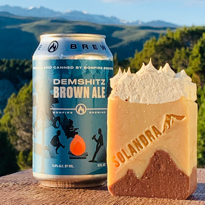 Bonfire Brewing Demshitz Beer Natural Soap