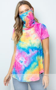 2-in-1 Tie-Dye Top