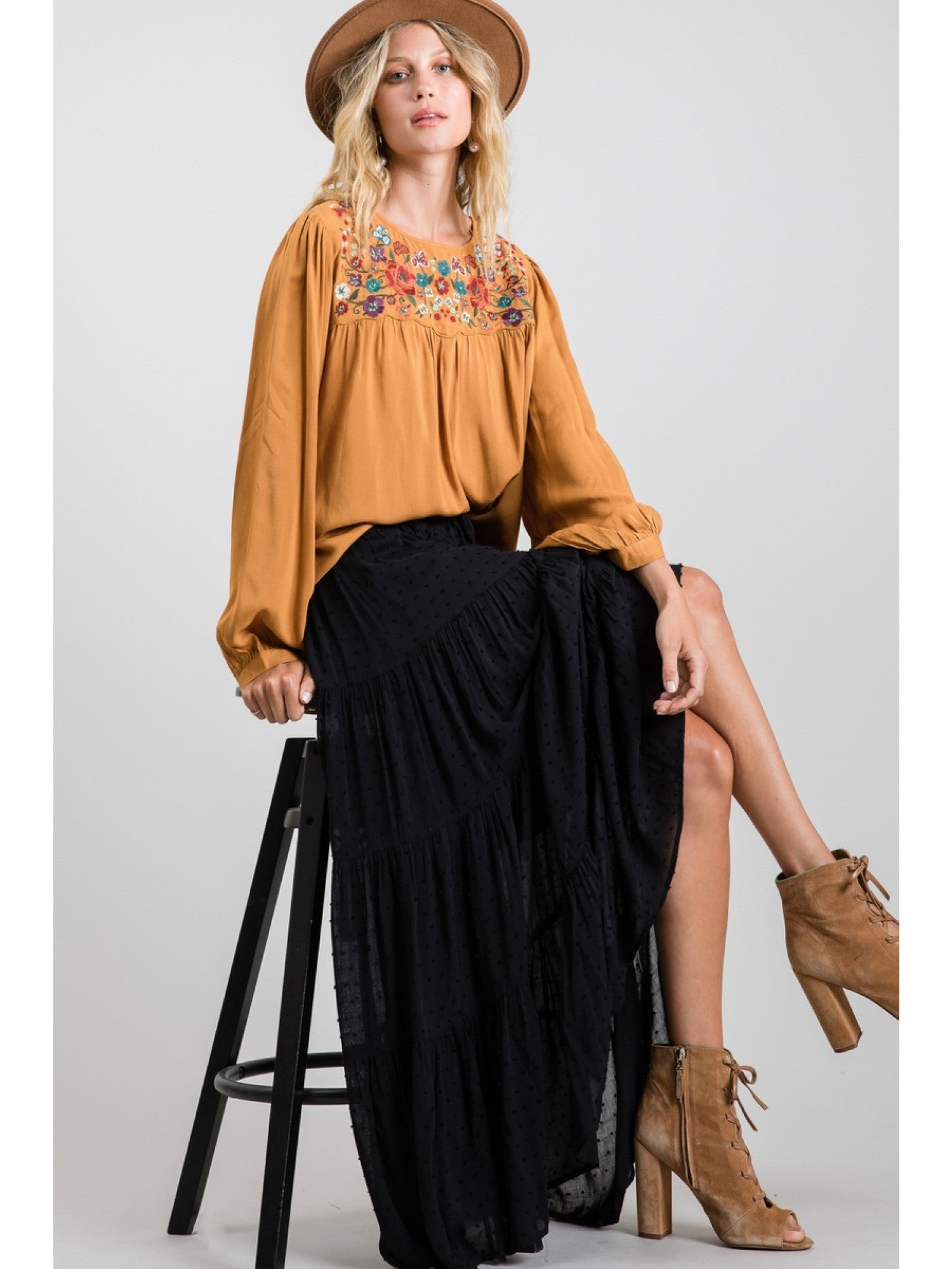 Hot-To-Trot Maxi Skirt