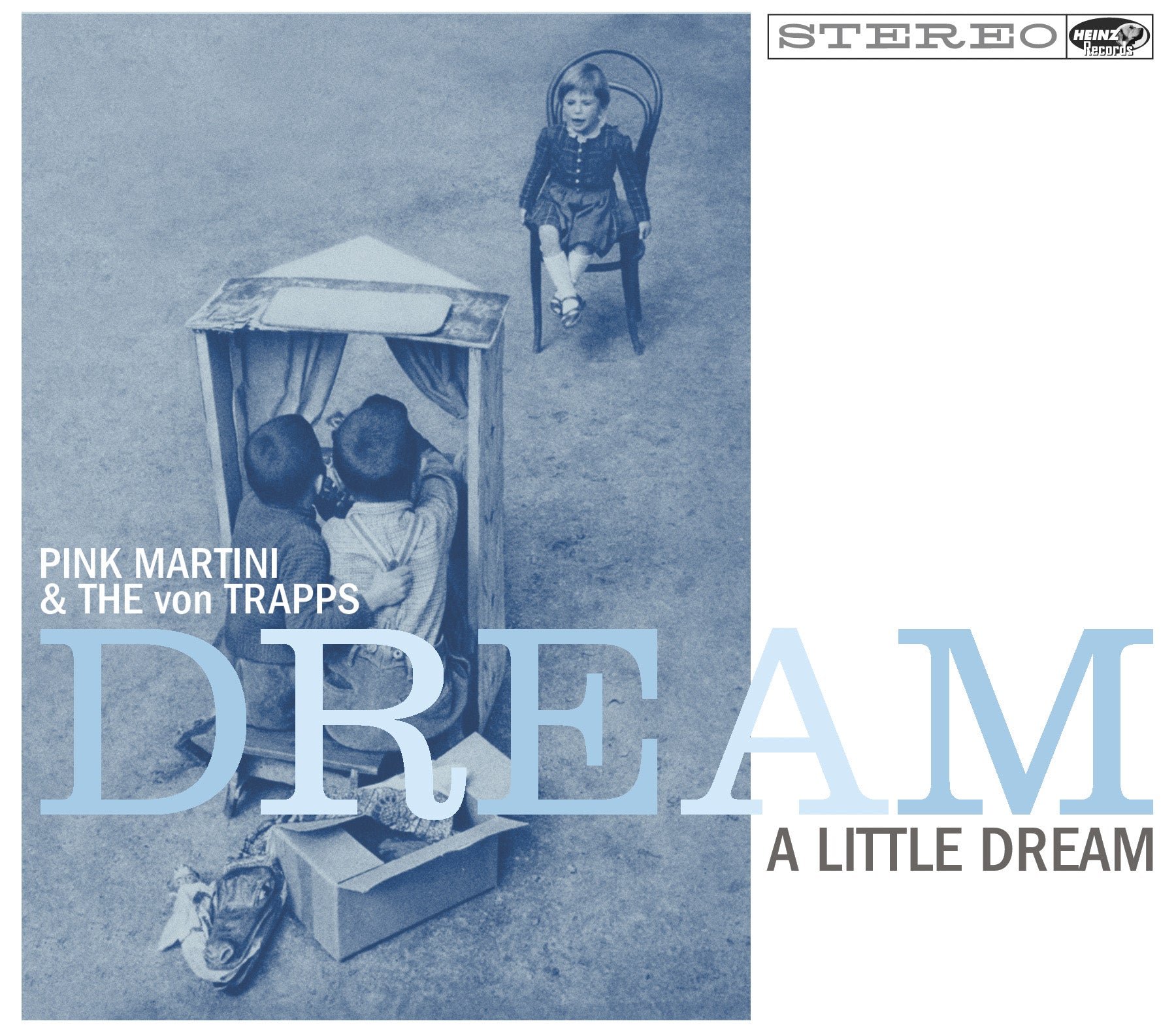 Pink Martini - Dream a little dream (CD)