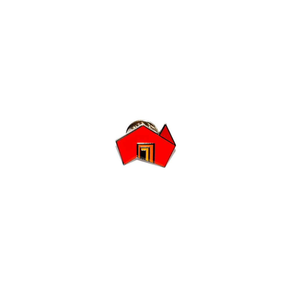 State Brand red lapel pin - Pickup only