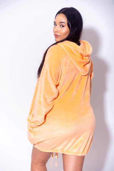 Super Cozy LUX Plush Drawstring Bottom Lounger