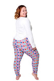 We-are-on Women Plus Size Pajamas Set 2 Piece Top and Bottom Super Soft Small - XXXL S-3X Lounge Sleepwear Nightgown PJs