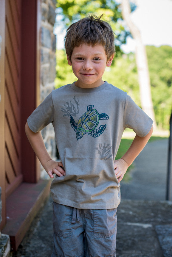 SEA TURTLE Organic Toddler T-Shirt
