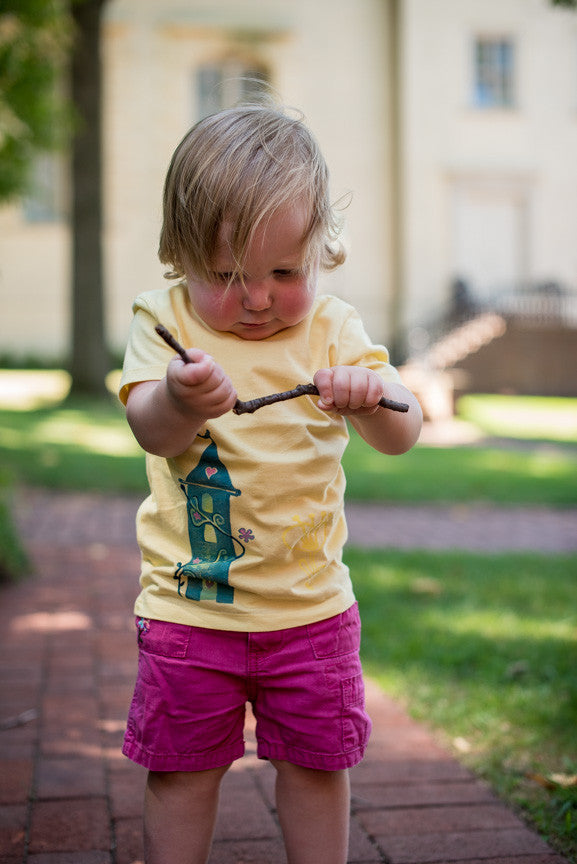 CASTLE Organic Toddler T-Shirt