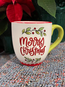 Gift Wrapped Merry Christmas Mug