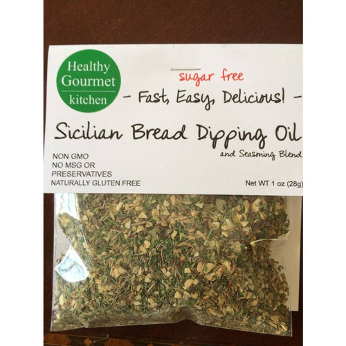 Sicilian Bread Dipping Oil
