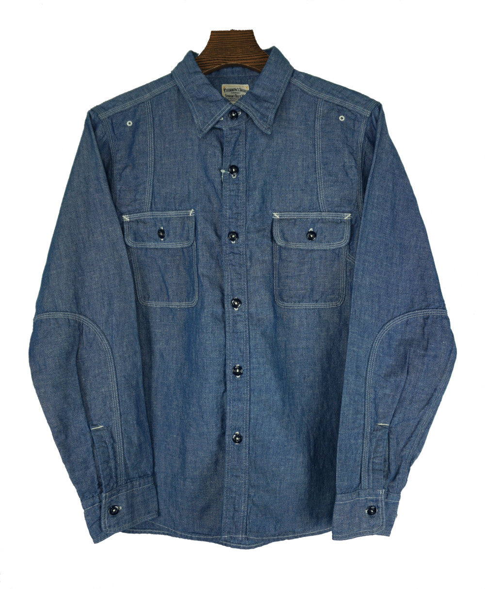 Pherrow's 770WS-W Chambray Shirt