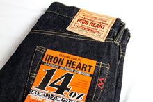 Load image into Gallery viewer, Iron Heart denim, IH-777s-142, 14oz Japanese selvedge jeans, raw heavyweight, made in Japan, Aitora Spain