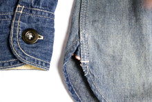 Load image into Gallery viewer, MOMOTARO 8oz Washed Selvedge Jail Pocket Shirt