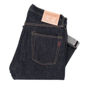 Iron Heart denim, IH-555-02, 18oz Japanese selvedge jeans, raw heavyweight, made in Japan, Aitora Spain