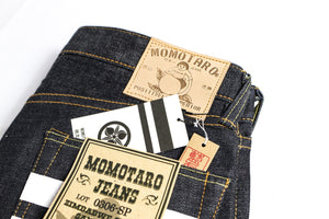 "Momotaro ""Going to Battle"" 15.7oz Selvedge Denim Tapered Fit"