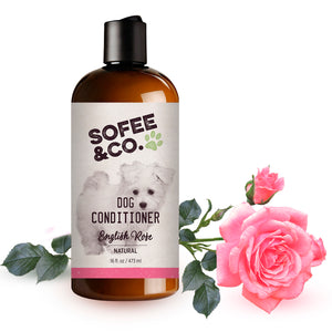 Natural Dog Conditioner - English Rose